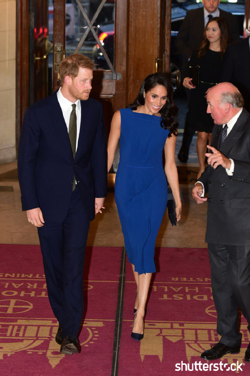 Prince Harry and Meghan Markle: The Year in Review - 100 Days of Peace Gala