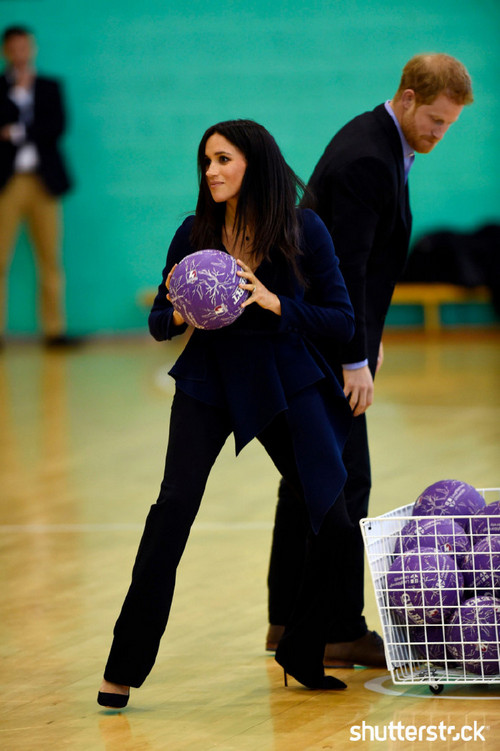 Prince Harry and Meghan Markle: The Year in Review - Coach Core in Action