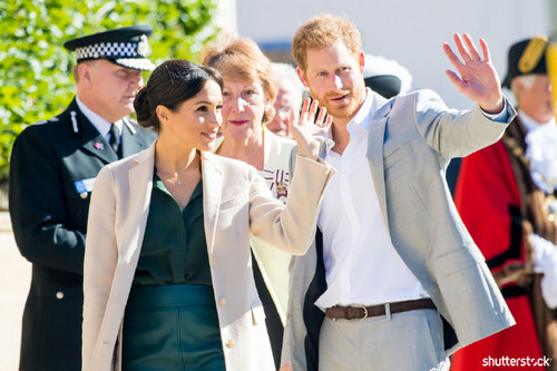 Prince Harry and Meghan Markle: The Year in Review - Sussex Visit