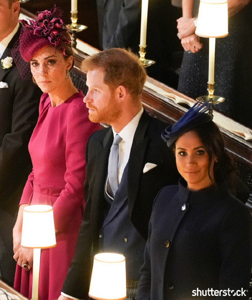 Prince Harry and Meghan Markle: The Year in Review - Attending Princess Eugenie's Wedding