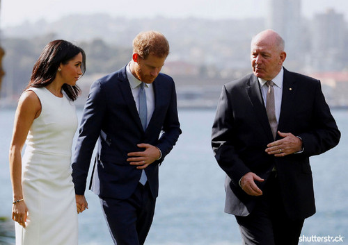 Prince Harry and Meghan Markle: The Year in Review - Australia Visit