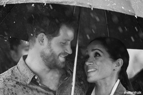 Prince Harry and Meghan Markle: The Year in Review - In the Rain