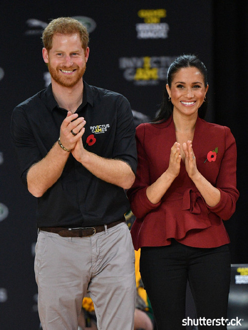 Prince Harry and Meghan Markle: The Year in Review - Australia Invictus Games
