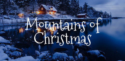 Free font for Christmas - Mountains of Christmas font