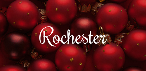Free font for Christmas - Rochester font