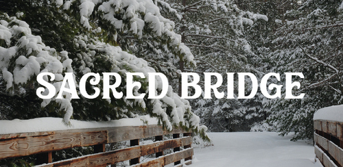 Free font for Christmas - Scared Bridge font