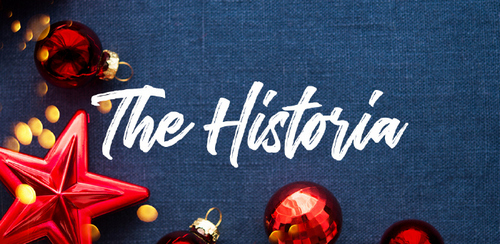 Free font for Christmas - The Historia font