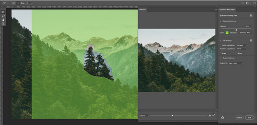 Why the New Photoshop Content-Aware Fill Is Insanely Powerful - Control Options