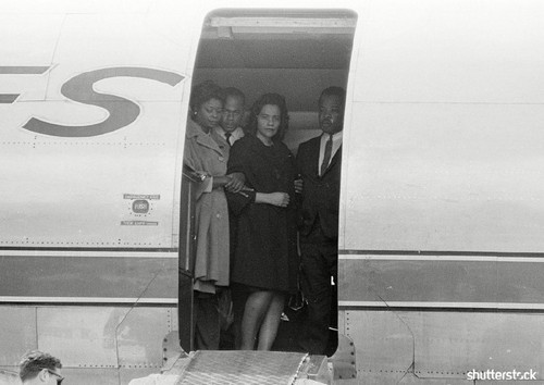 15 Breathtaking Photos from the Life of Martin Luther King Jr. - Coretta Scott King in Mourning