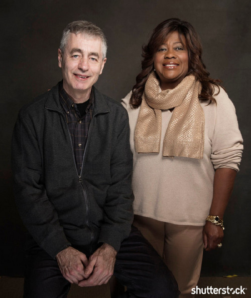 15 Priceless Photos from the Sundance Film Festival - Steve James and Chaz Ebert