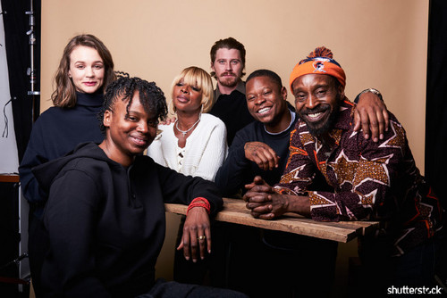 15 Priceless Photos from the Sundance Film Festival - Carey Mulligan, Dee Rees, Mary J Blige, Garrett Hedlund, Jason Mitchell, and Rob Morgan