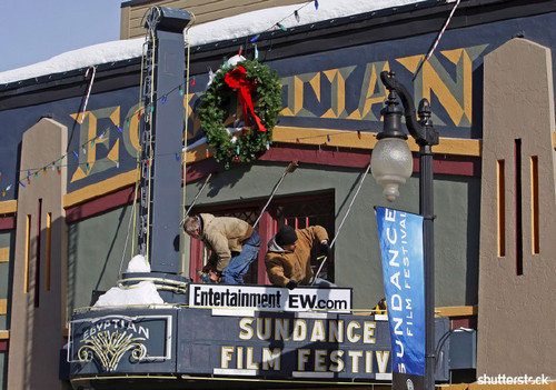15 Priceless Photos from the Sundance Film Festival - The Egyptian Theater
