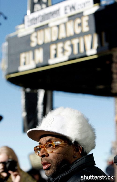 15 Priceless Photos from the Sundance Film Festival - Spike Lee