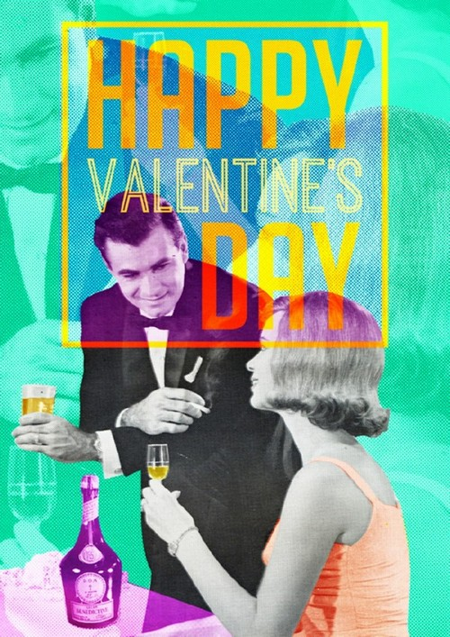 20 Trendy Valentine's Day Design Ideas to Inspire You - Retro Collage
