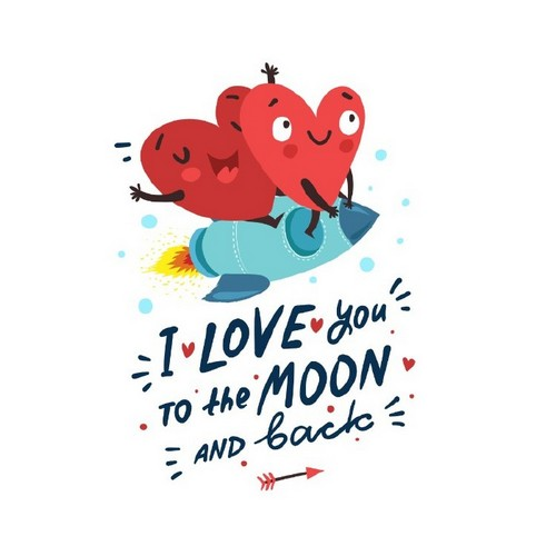 20 Trendy Valentine's Day Design Ideas to Inspire You - Hand-Drawn Illustration