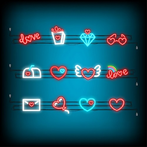 20 Trendy Valentine's Day Design Ideas to Inspire You - Neon Icons