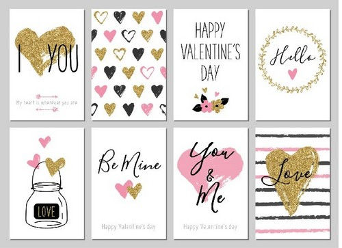 20 Trendy Valentine's Day Design Ideas to Inspire You - Glitter