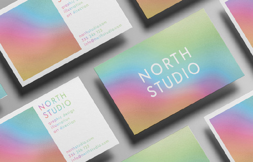 Create a Holographic Foil Effect in Adobe Photoshop — Card Mockup