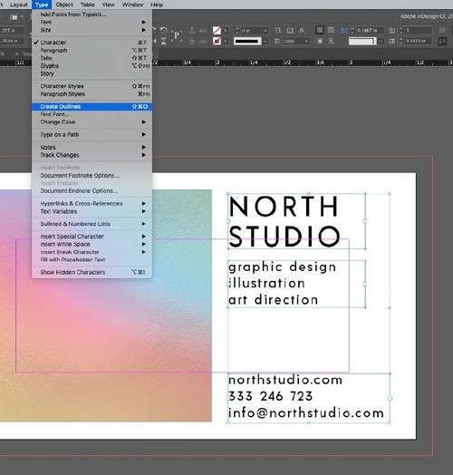 Create a Holographic Foil Effect in Adobe Photoshop — Create Outlines