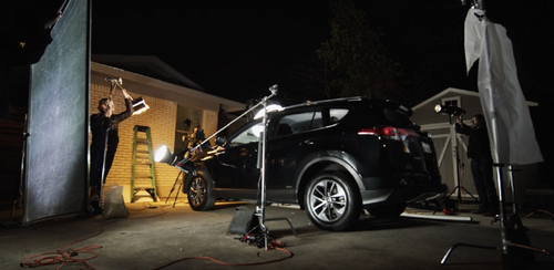 How To Light A Car Scene Using The Poor Man's Process - Night Driving