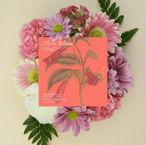 How to Use Living Coral, Pantone's Color of the Year, in Your Designs - Botanical Designs