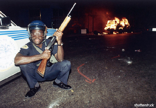 Incredible Moments from Super Bowl History, In Pictures - Miami Riots