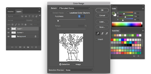 Turn a Sketch into Digital Art with This Complete Guide - Add Color to Lines