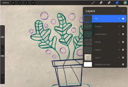 Turn a Sketch into Digital Art with This Complete Guide - Layers Tab