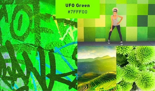 Use 2019's Most Popular Colors in Your On-Trend Designs - UFO Green