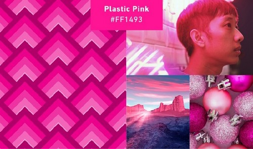 Use 2019's Most Popular Colors in Your On-Trend Designs - Plastic Pink