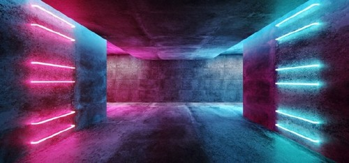 Use 2019's Most Popular Colors in Your On-Trend Designs - Concrete and Neon