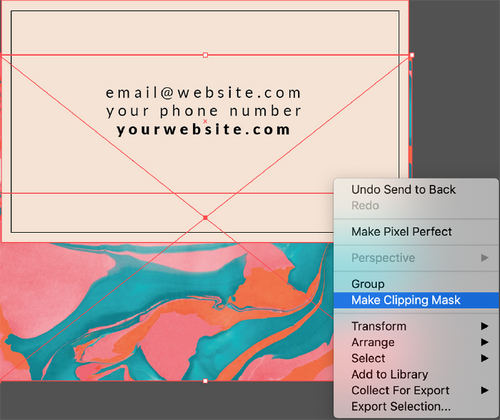 Video Tutorial: Using Our Free Marble Textures in Your Designs — Clipping Masks for Shapes