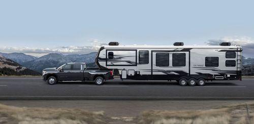 The 2020 GMC Sierra 3500 HD.
