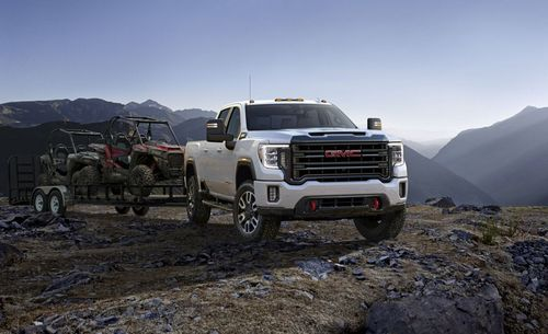 The 2020 GMC Sierra 2500 HD AT4.