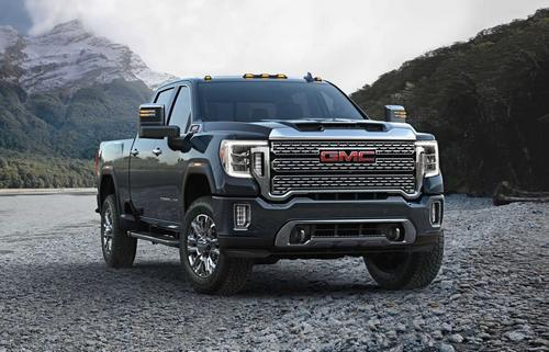 The 2020 GMC Sierra 3500 HD.
