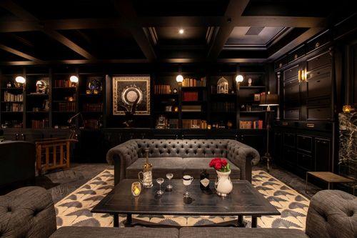 The Hendrick's lounge.