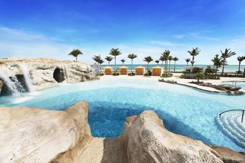 The Blue Hole pool at SLS Baha Mar