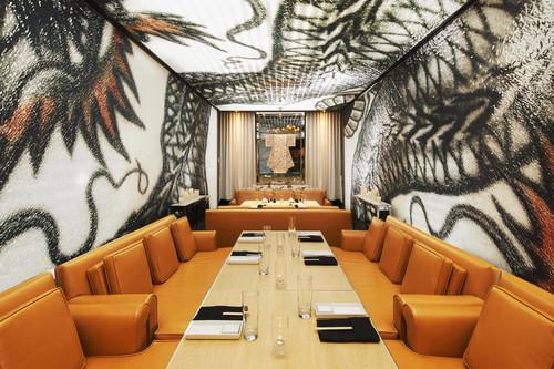 The private Dragon Room inside Katsuya