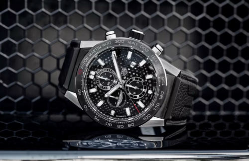 The Tag Heuer Carrera Caliber Heuer 01 Aston Martin Special Edition.