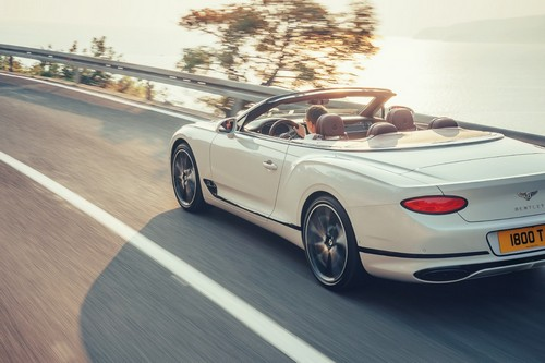 Bentley Continental GT Convertible 7