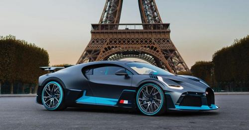 The Divo, parked in front of the Eiffel Tower, is the epitome of exclusivity, with only 40 cars produced.