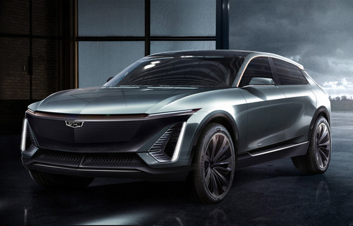 Cadillac Shares Photos of Its First-Ever Electric Car