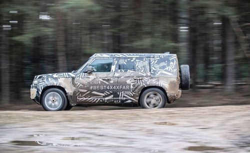 Celebrate 'World Land Rover Day' With New Photos of the 2020 Defender