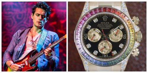 John Mayer and his favorite Rolex Daytona