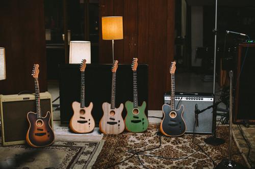 The Fender American Acoustasonic Telecaster Series.