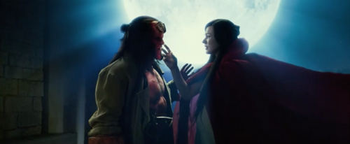 Hellboy and that evil sorceress
