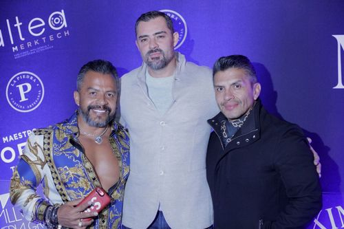 (From left to right) Eduardo Lopez, Christian Septien and Roberto Lopez.