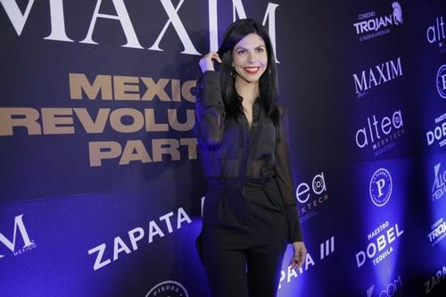 Maxim Mexico cover model Africa Zavala.