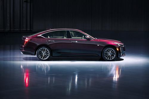 The Cadillac CT5 Luxury.