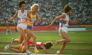 50 stunning Olympic moments No30: Zola Budd in 1984